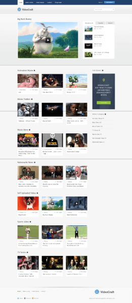 videocraft wordpress theme bloggersutra