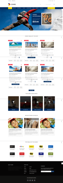 wp comre coupon website template free download