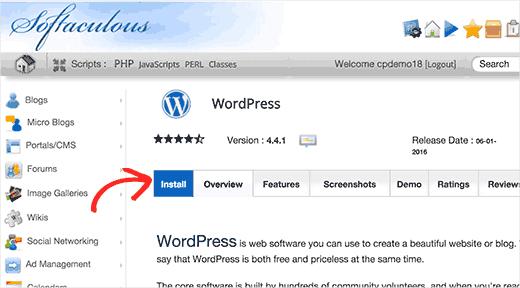 softaculous-installwp-bloggersutra