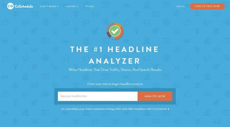 Headline-Analyzer-From-CoSchedule