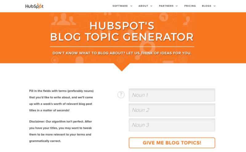 HubSpots-Blog-Topic-Generator