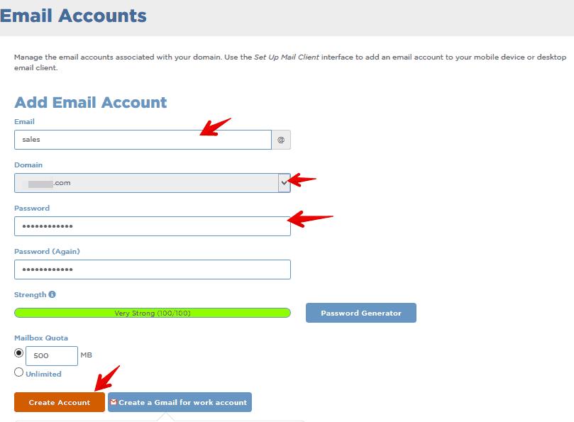 Domain-Email-Setup