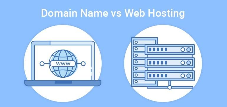 Domain-Name-vs-Web-Hosting