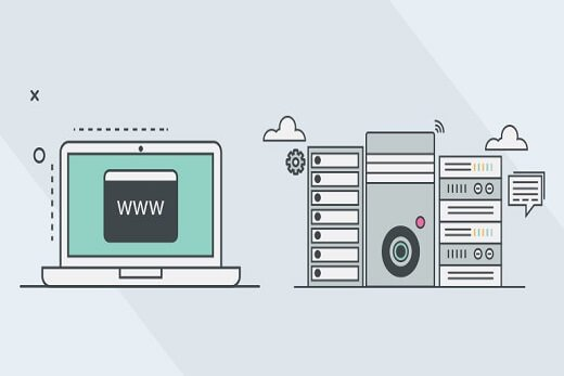 what is difference between domain name and web hosting-beginners guide