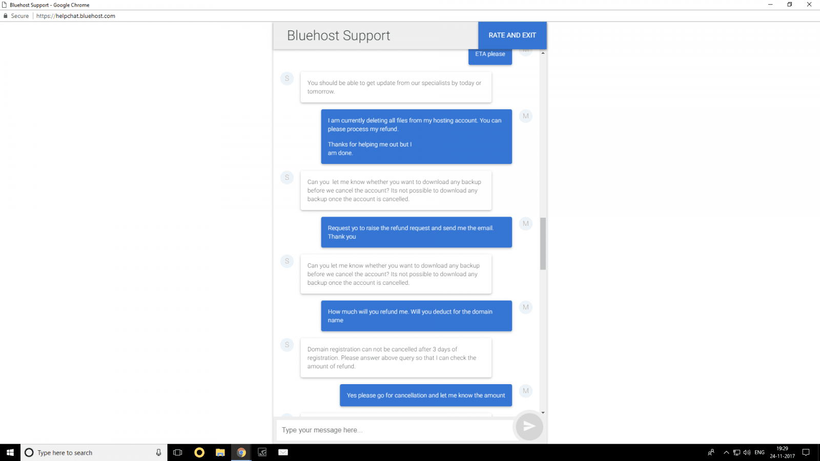 Bluehost Customer Service Reviews 11