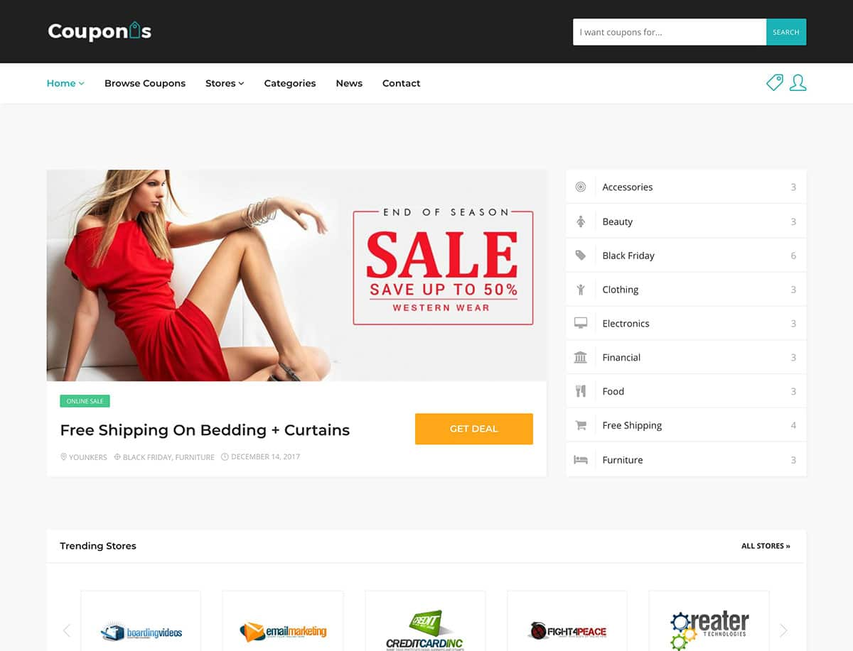 Couponis-coupon-wordpress-theme