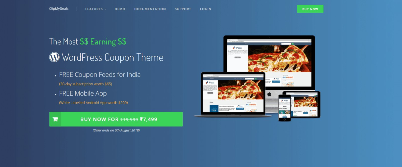 clipmydeals wordpress coupon theme-bloggersutra