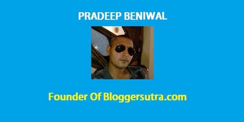 pradeep-beniwal-founder-bloggersutra