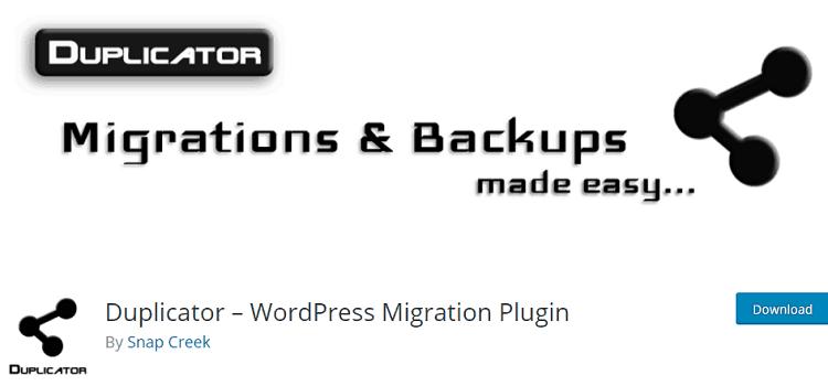 Duplicator--wordpress-backup-plugin