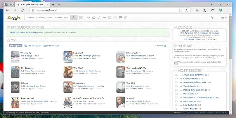 Zooqle-Best-Torrent-Search-Engine