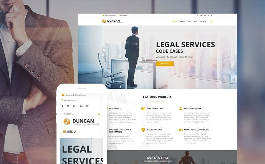 ducncan wordpress template