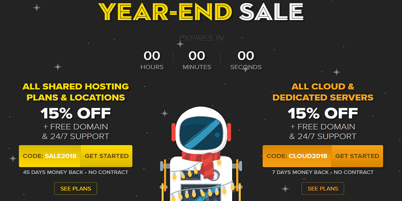 fastcomet new year sale