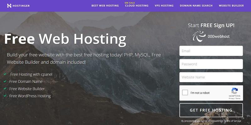 hostinger-free-web-hosting