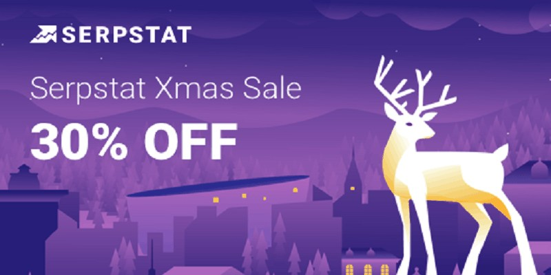 serpstat christmas sale