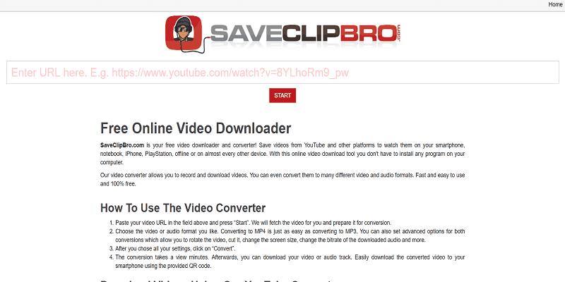 saveclipbro-online-mp3-converter