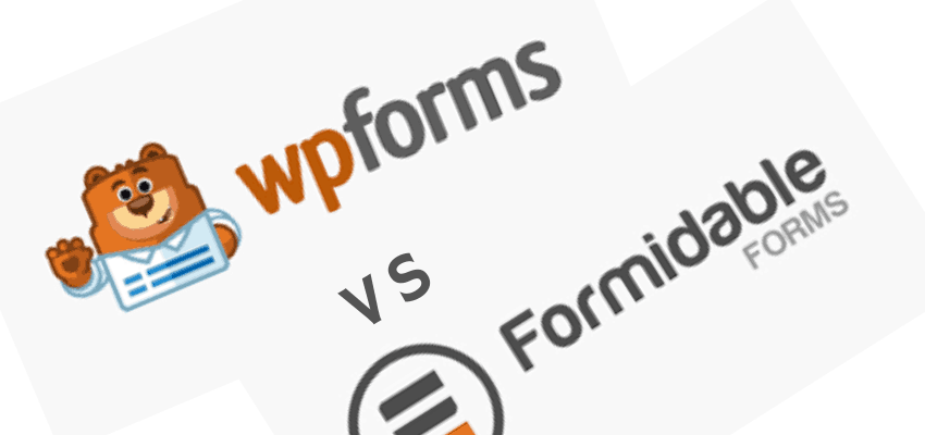 Formidable Forms vs WPForms