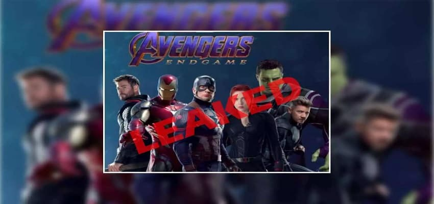 avenger endgame released on tamilrockers