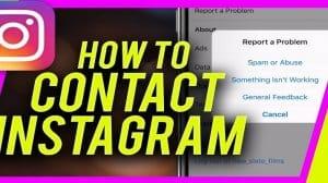 contact Instagram