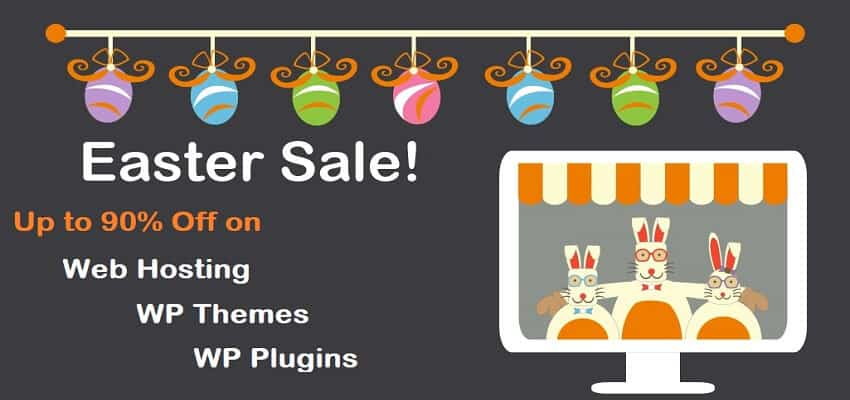 Easter Web Hosting & WordPress Deals