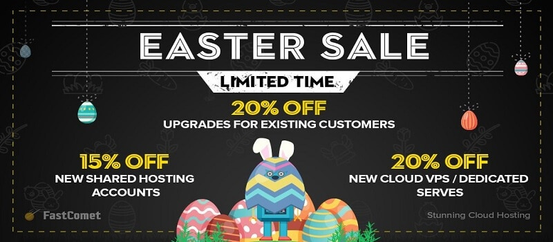 fastcomet-easter-sale