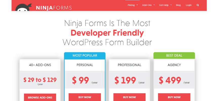 ninja form price