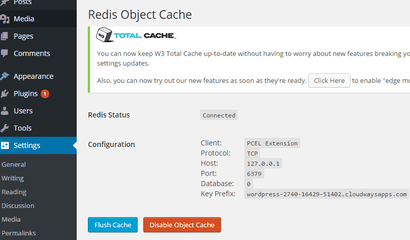 verifying redis cache working