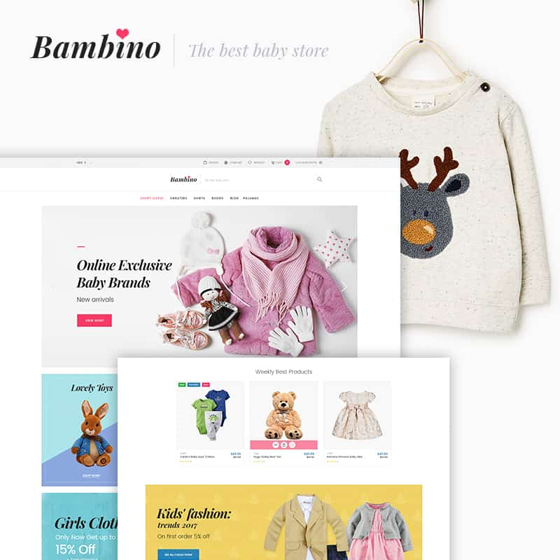 bambino fashion template