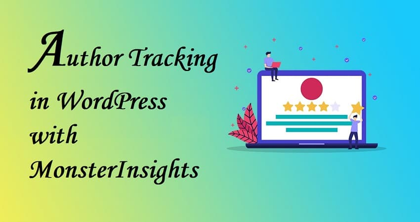 author tracking in wordpress with monsterinsights