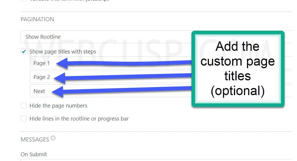 how-to-create-multi-page-form-formidable-forms-progress-bar-and-rootline-adding-custom-page-titles