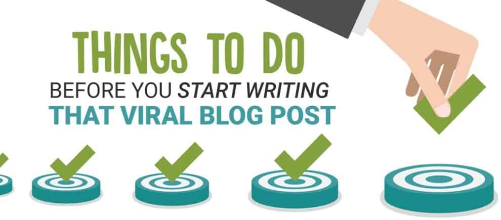 How to Write Blog Posts With Viral Potential