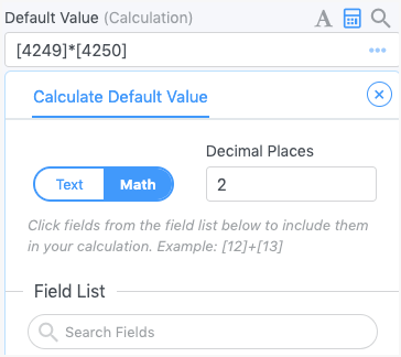 field-calc_calculations