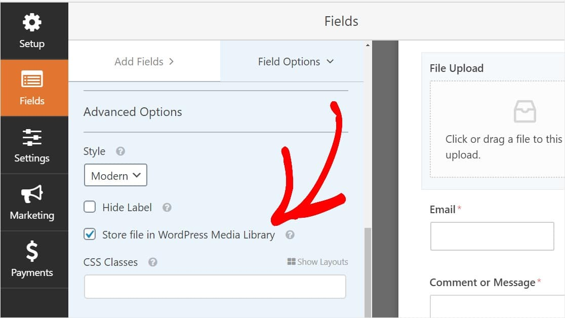 check-box-to-store-uploads-in-wordpress-media-library