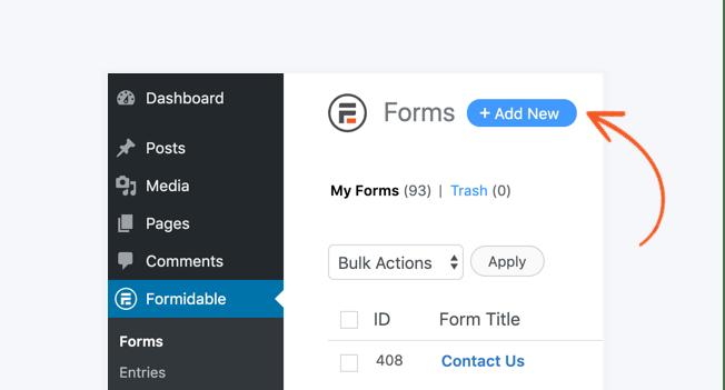 create wordpress quiz form