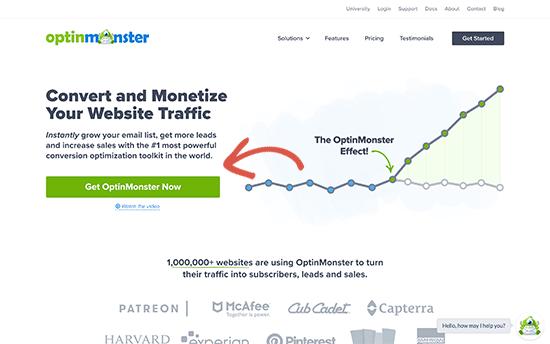 create optinmonster account