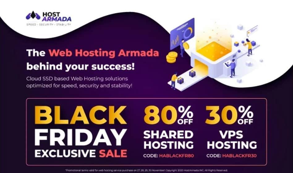 hostarmada black friday deals
